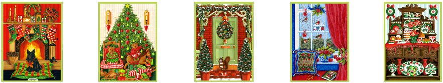 Anni Arts Christmas House Handmade Card and Craft Designs