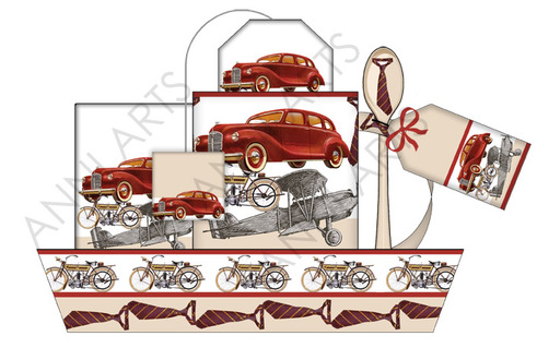 Anni Arts Vintage Vehicles Mock-up Pic