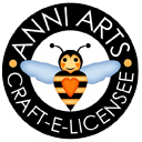 Anni Arts Licensee Crafty Bee Logo